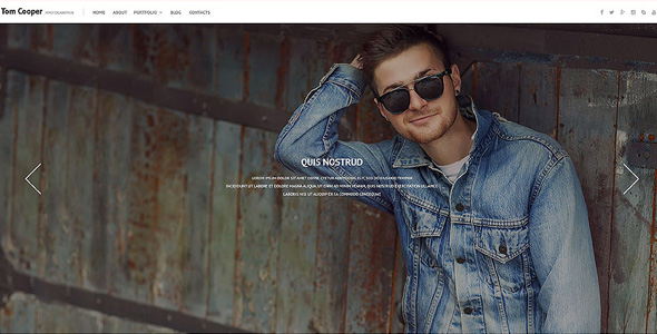 online-photo-portfolio-wordpress-theme