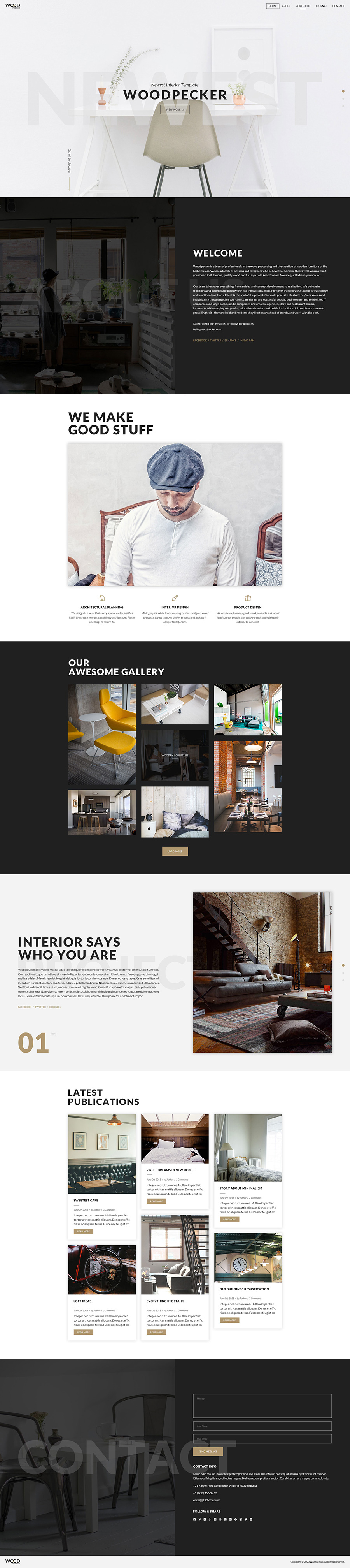 woodpecker-interior-psd-template