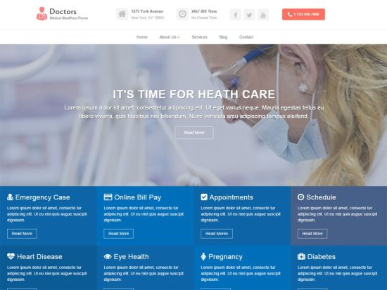 doctors-free-wordpress-theme