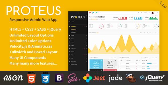 proteus-responsive-admin-web-app