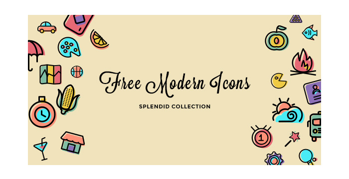 The-Splendid-Collection-of-Free-Modern-Icon-Sets