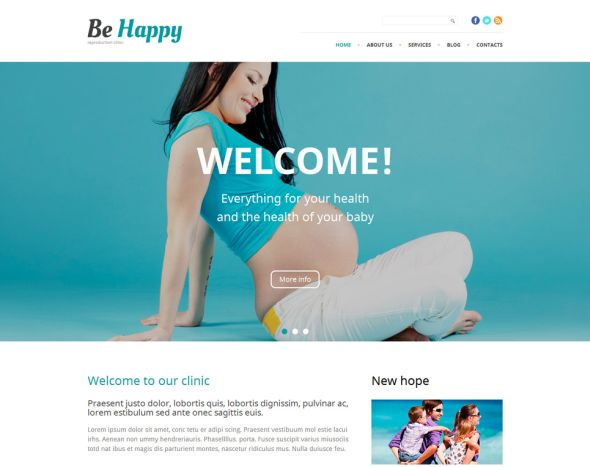 be-happy wordpress-theme