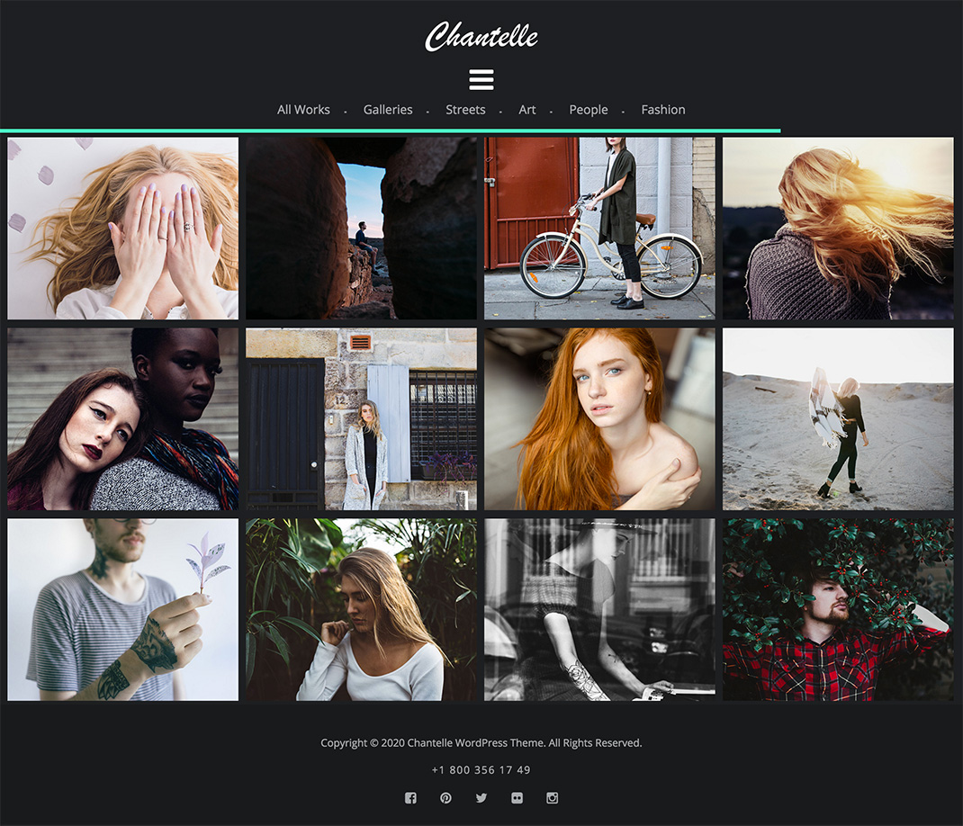 30 free and premium photography html website templates and layouts.