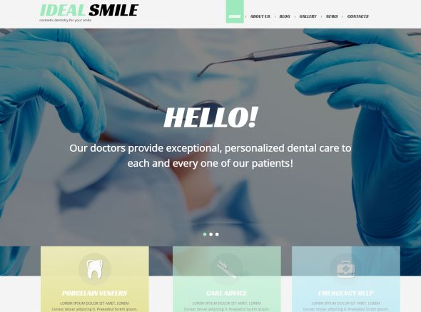 dentistry-responsive-wordpress-theme