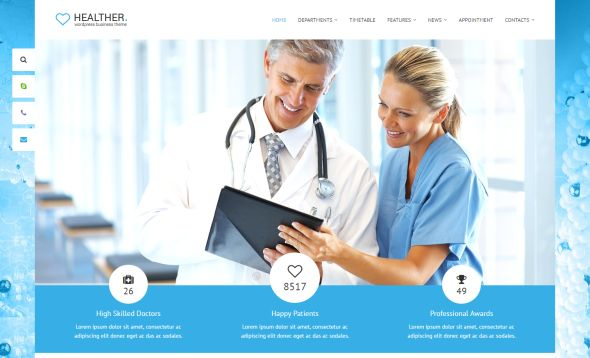 healther-medicine-wordpress-theme