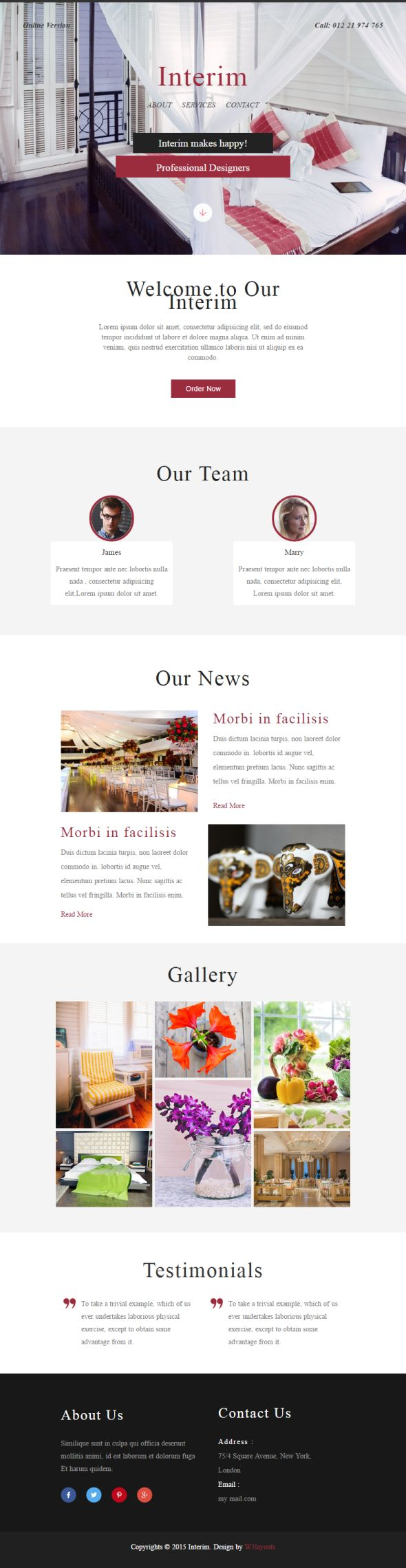 interim-newsletter-template