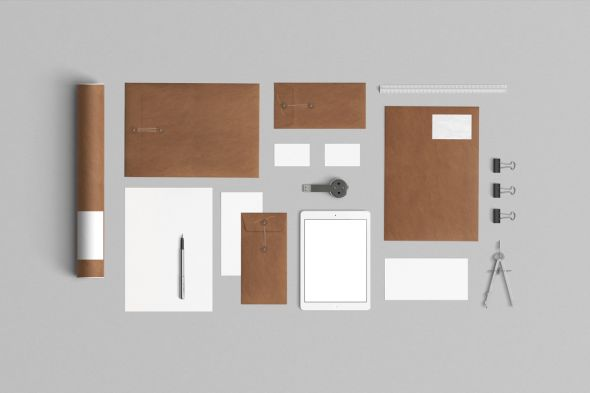kraft-paper-stationery-mockup