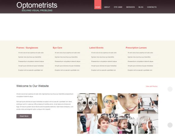 optometrists- responsive-wordpress-theme