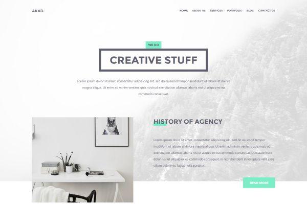 akad-free-html-website-template