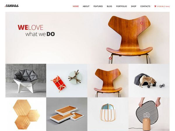 canvas-interior-website-template