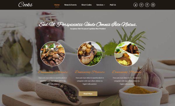 cooks-web-template
