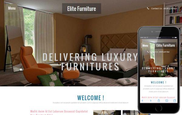 elite-furniture-free-html-template
