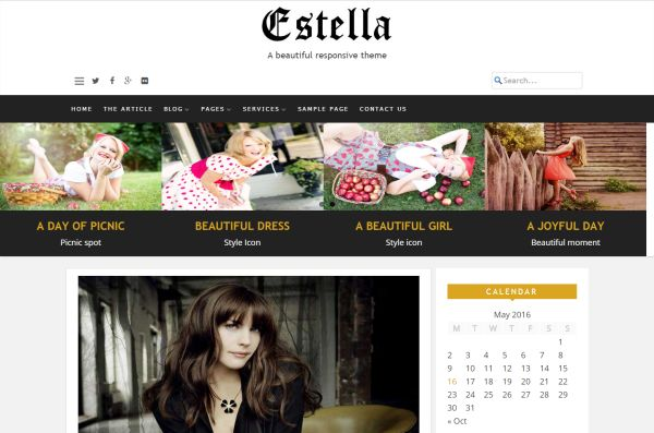 estella-free-wordpress-theme