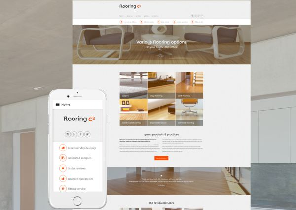 flooring-co-premium-website-template