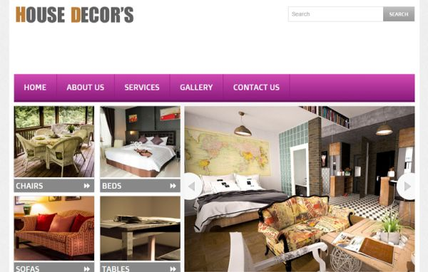house-decors-free-bootstrap-template