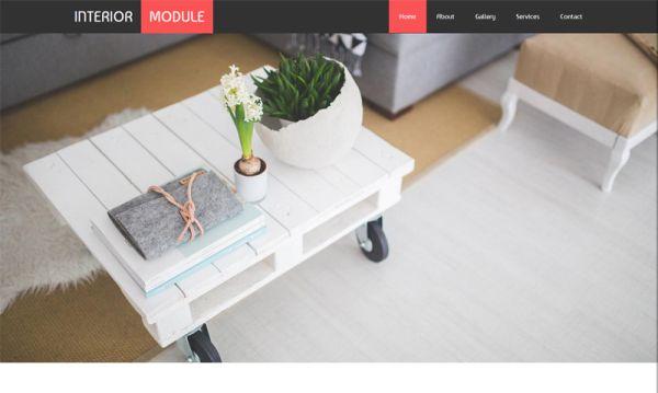 interior-module-free-bootstrap-template