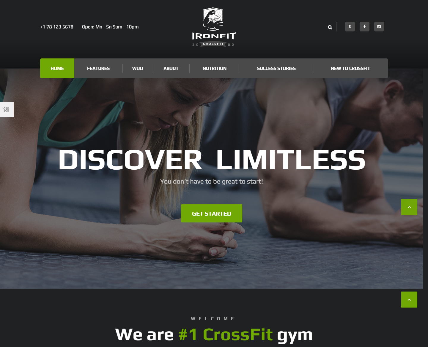 ironfit-premium-wordpress-theme