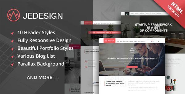jedesign-premium-html-template