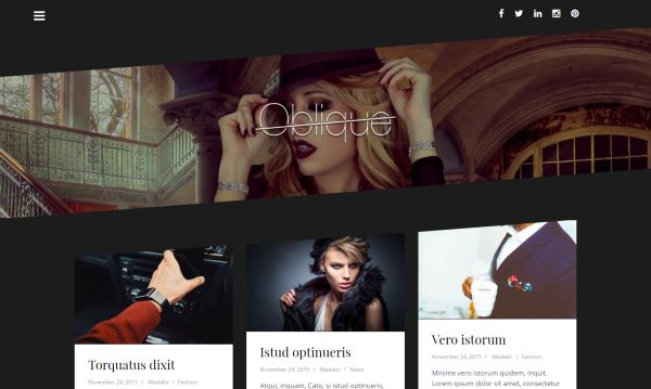 oblique-free-wordpress-theme