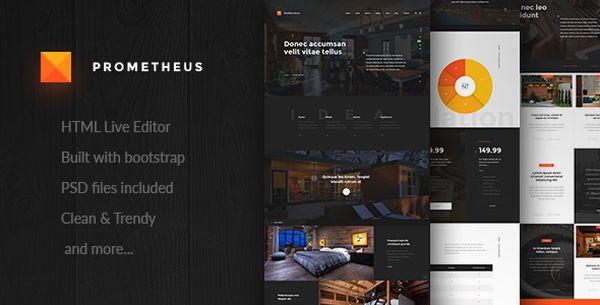 prometheus-premium-html-template