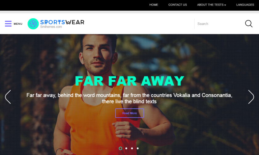sportswear-free-wordpress-theme