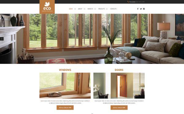 windows-and-doors-premium-website-template