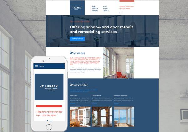 windows-doors-premium-website-template