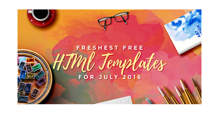 The-Freshest-Free-HTML-Templates-for-July-2016