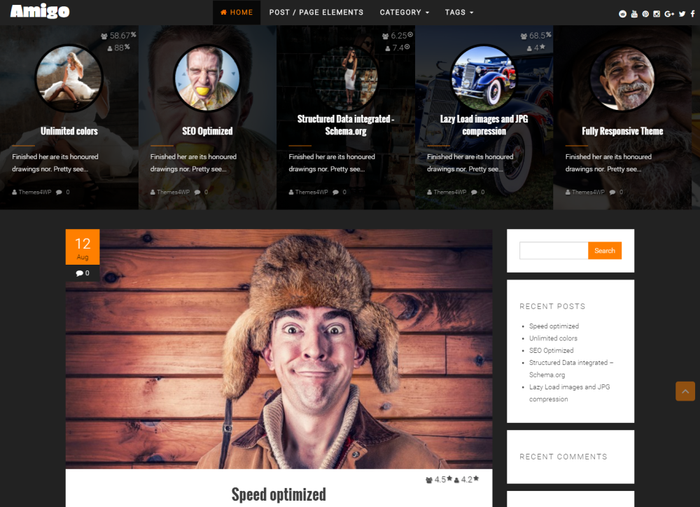amigo-free-wordpress-theme