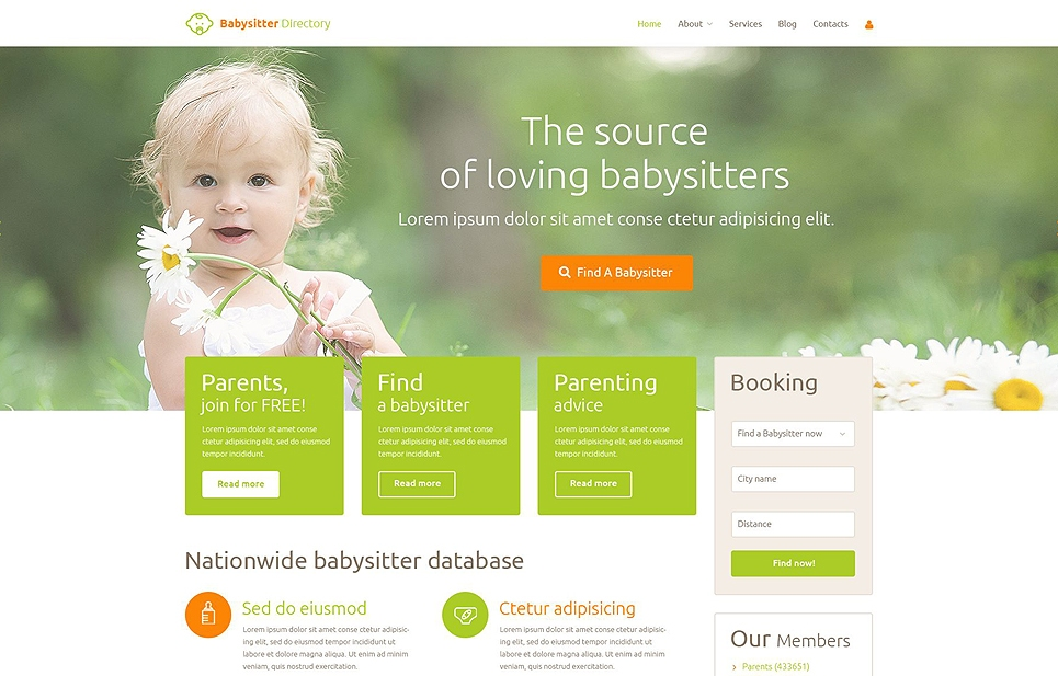 babysitter-premium-wordpress-theme