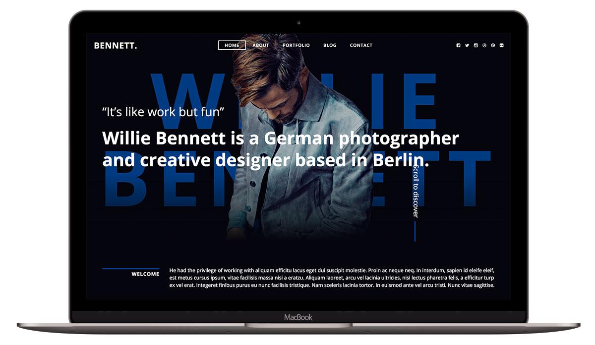 bennett-html-template