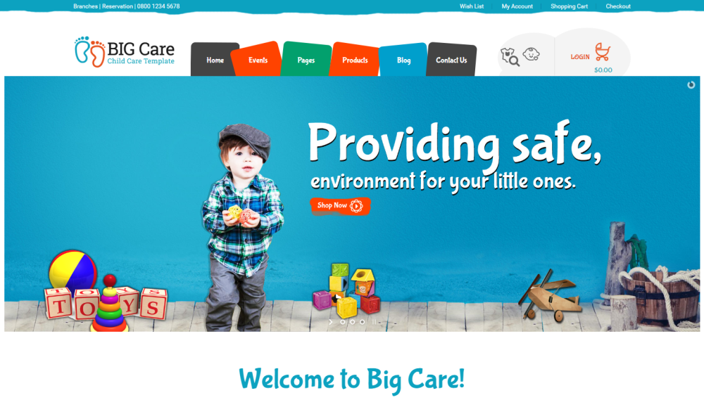 big-care-premium-wordpress-theme
