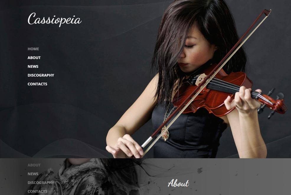 cassiopeia-premium-html-template