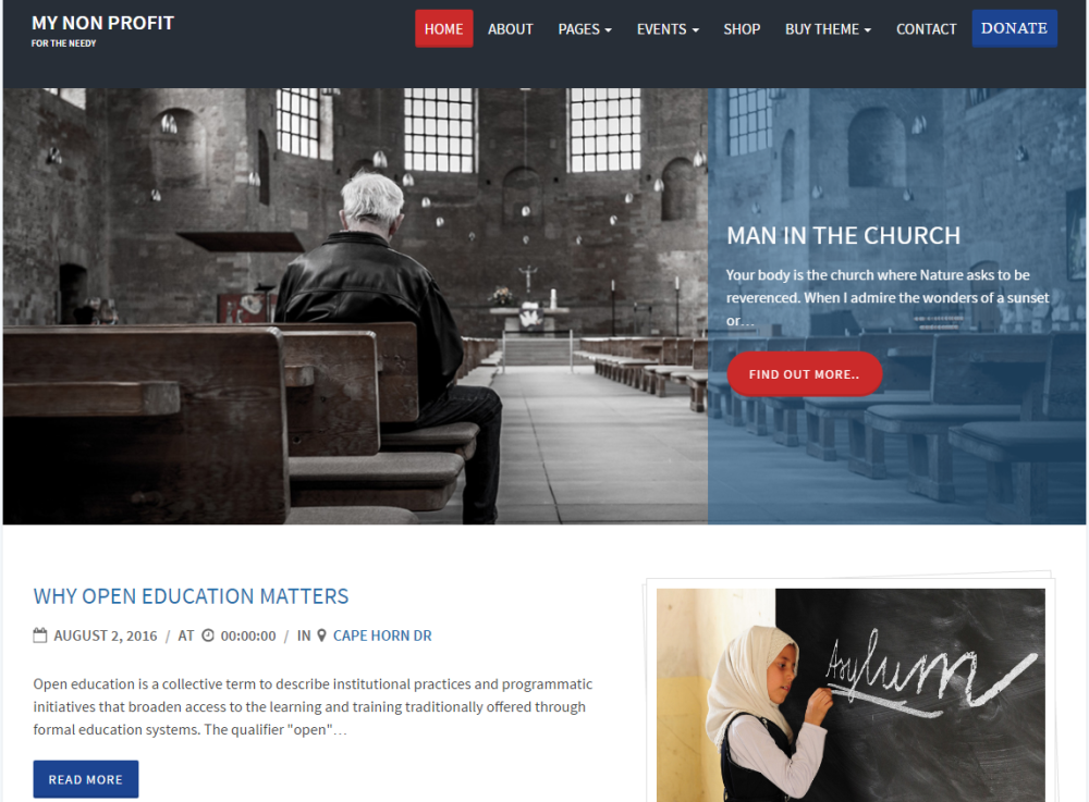 charity-review-free-wordpress-theme