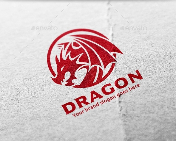 dragon-emblem-logo-design