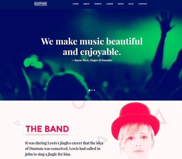 duotone-premium-html-template