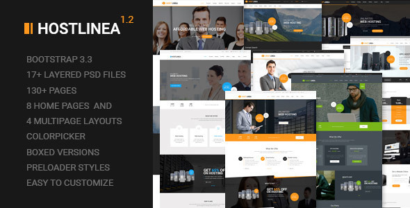 hostlinea-premium-wordpress-theme