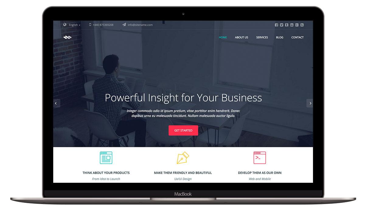 ininum-html-template