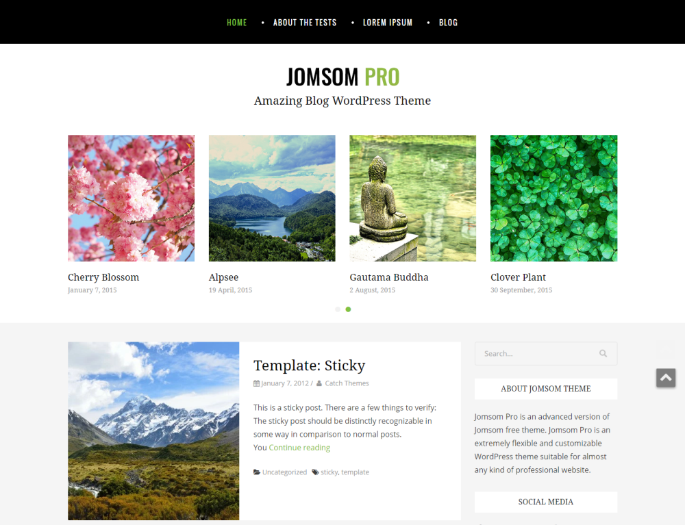 jomsom-free-wordpress-theme