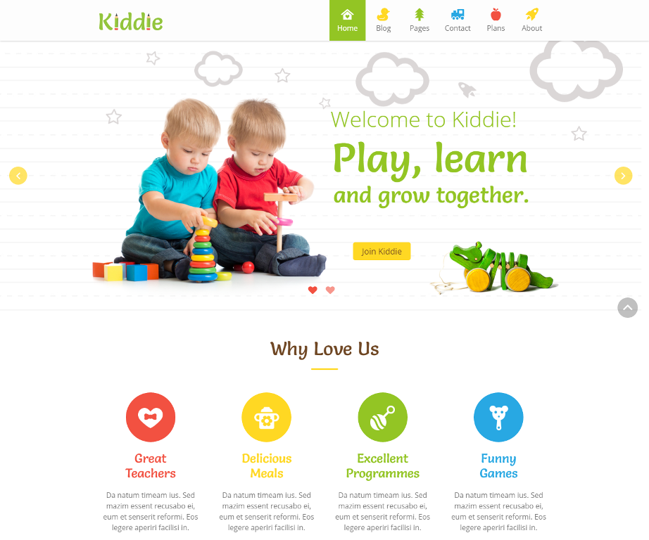 kiddie-premium-wordpress-theme