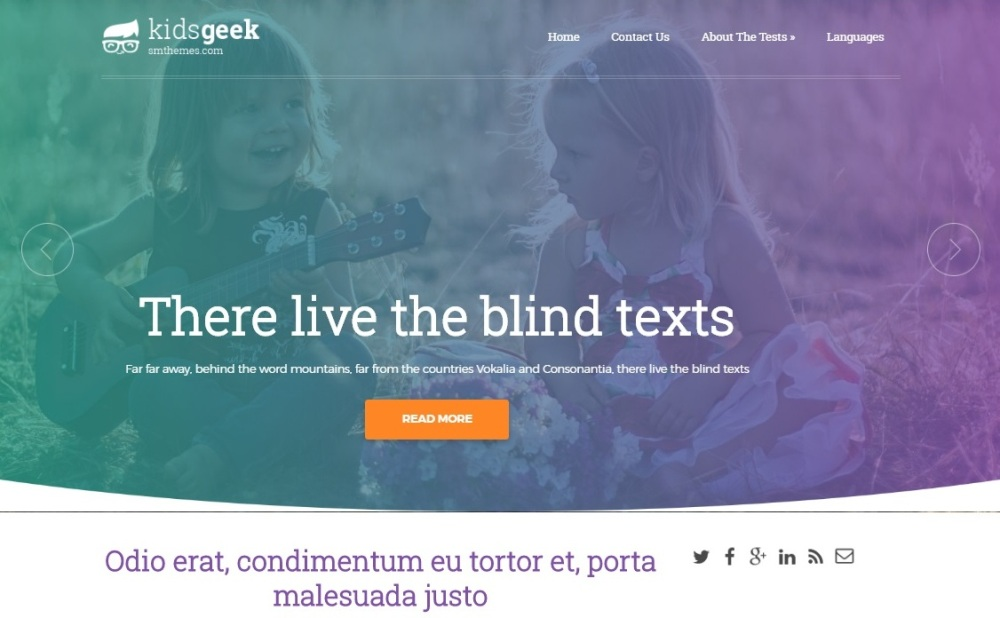 kidsgeek-free-wordpress-theme