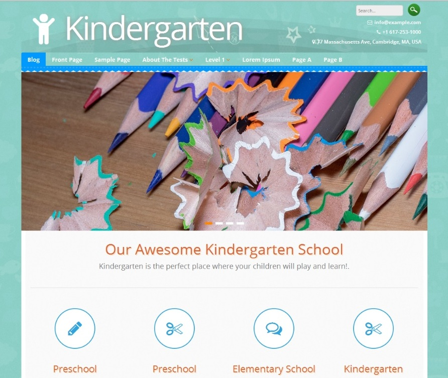 kindergarten-free-wordpress-theme