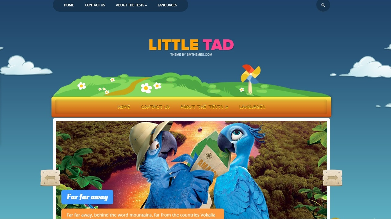 littletad-free-wordpress-theme