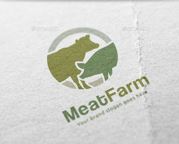 meat-farm-logo-design