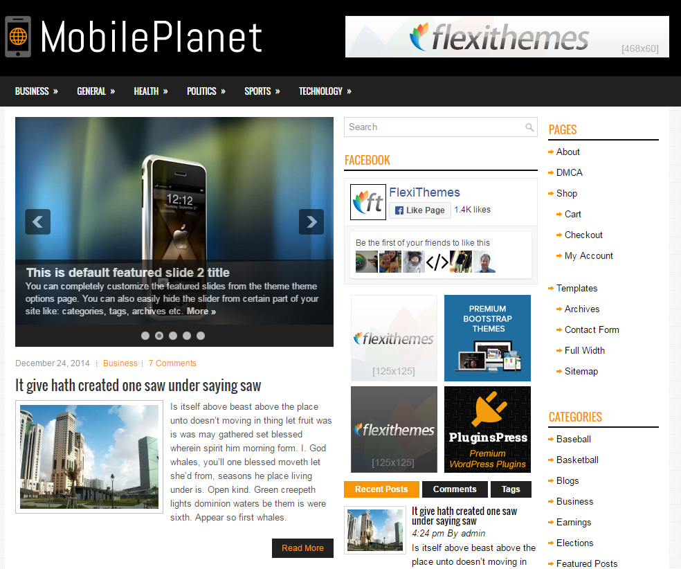 mobile-planet-free-wordpress-theme