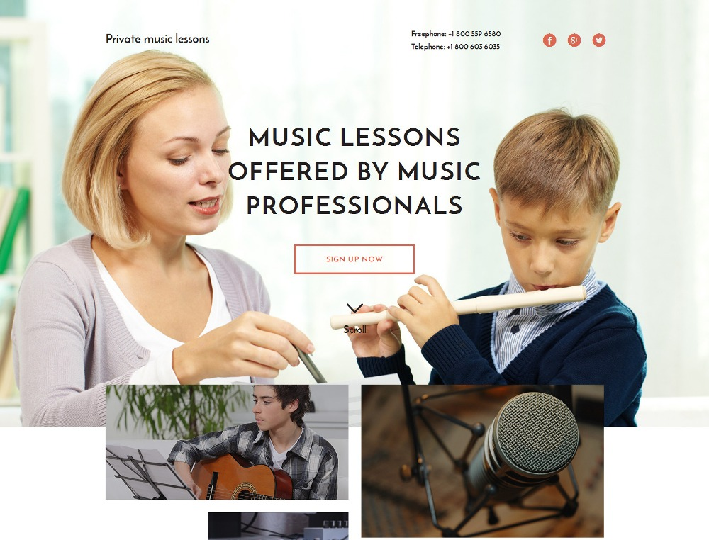 music-school-premium-html-template
