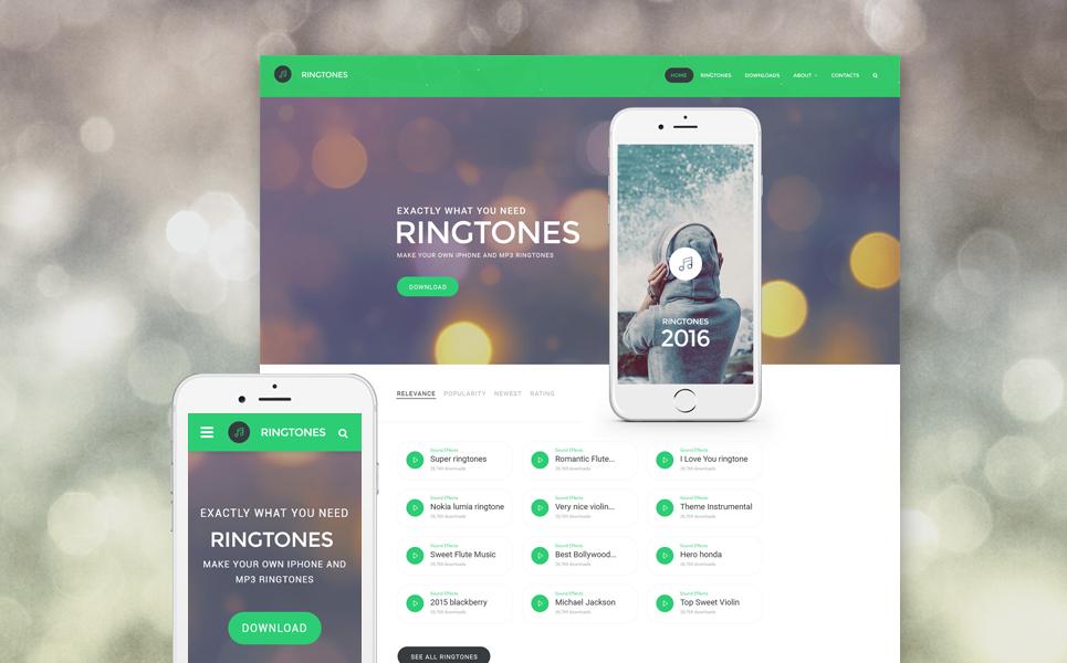 ringtones-portal-premium-html-template