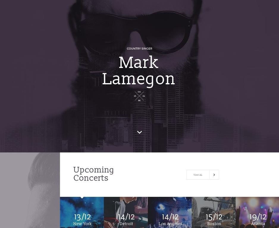 singer-premium-landing-page-template