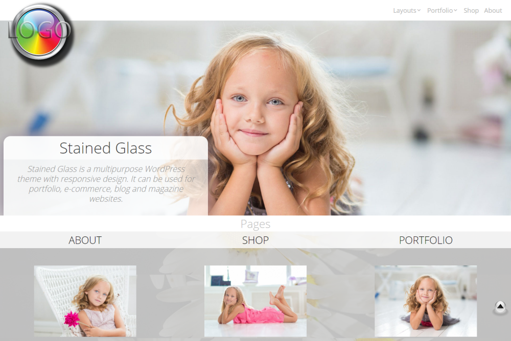 stained-glass-free-wordpress-theme