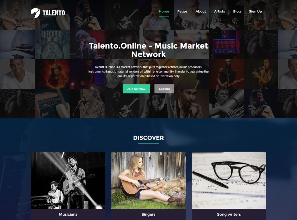 talento-premium-html-template